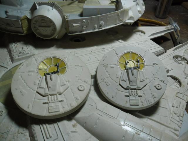 Meine Schrottmühle...Restauration eines Modells des Milenium Falcon vom AMT-Ertl 1511