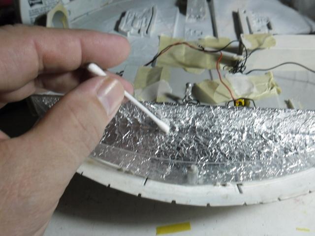 Meine Schrottmühle...Restauration eines Modells des Milenium Falcon vom AMT-Ertl 16a10