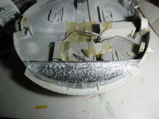 Meine Schrottmühle...Restauration eines Modells des Milenium Falcon vom AMT-Ertl 16b10