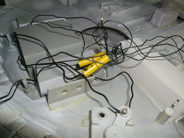 Meine Schrottmühle...Restauration eines Modells des Milenium Falcon vom AMT-Ertl 6a10