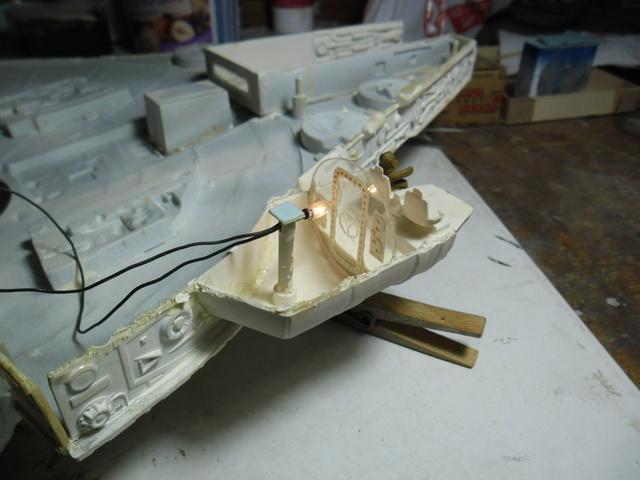 Meine Schrottmühle...Restauration eines Modells des Milenium Falcon vom AMT-Ertl 6b10