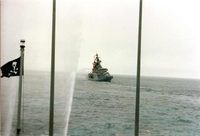 Zum Raketenschießen zu den Bahamas. Zerstörer Lütjens. Aaaa12