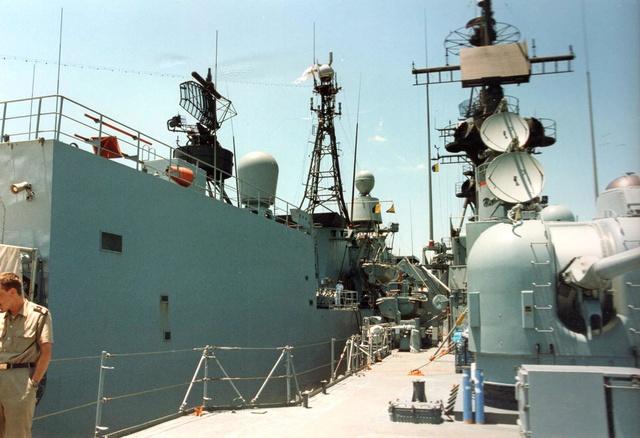 Zum Raketenschießen zu den Bahamas. Zerstörer Lütjens. Img35710
