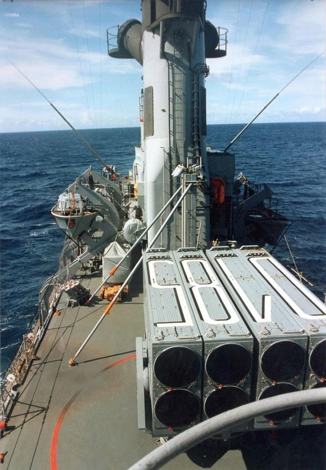 Zum Raketenschießen zu den Bahamas. Zerstörer Lütjens. Img36912