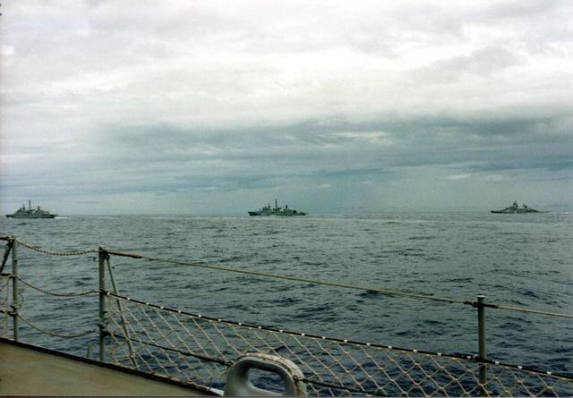 Zum Raketenschießen zu den Bahamas. Zerstörer Lütjens. Img38810