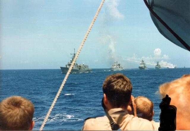 Zum Raketenschießen zu den Bahamas. Zerstörer Lütjens. Img39710