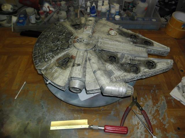 Meine Schrottmühle... Teil 2- Umbau des Milenium Falcon  Sam_7946