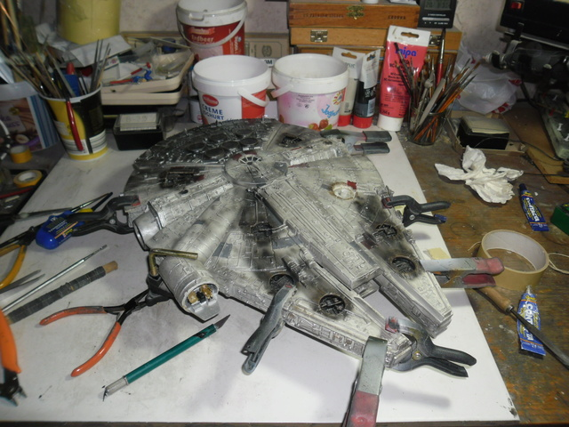 Meine Schrottmühle... Teil 2- Umbau des Milenium Falcon  Sam_8130