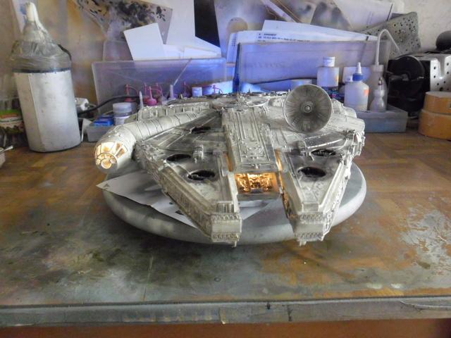 Meine Schrottmühle... Teil 2- Umbau des Milenium Falcon  Sam_8225