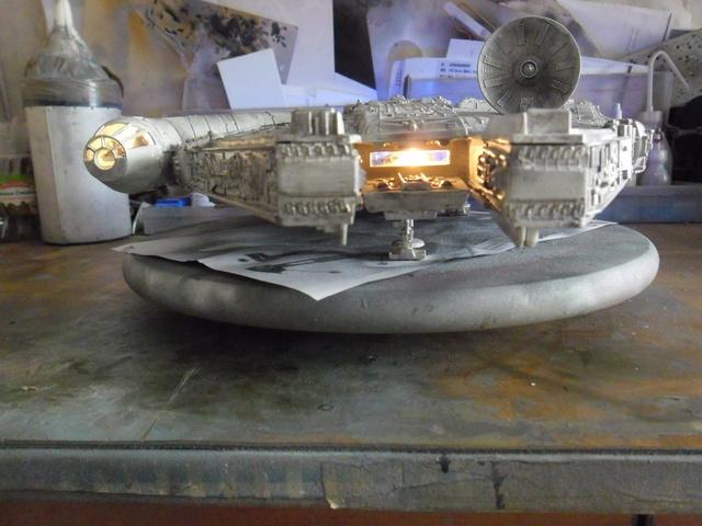 Meine Schrottmühle... Teil 2- Umbau des Milenium Falcon  Sam_8226