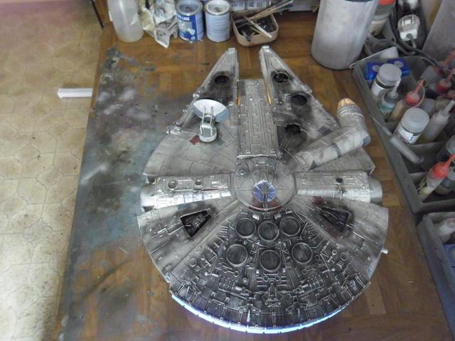 Meine Schrottmühle... Teil 2- Umbau des Milenium Falcon  Sam_8227