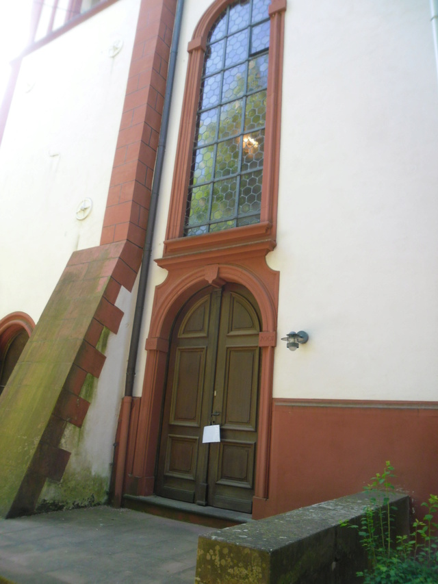 Die evangelische Bergkirche in Osthofen. Sam_8615