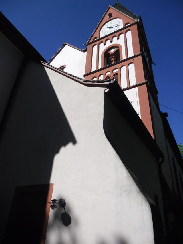 Die evangelische Bergkirche in Osthofen. Sam_8618