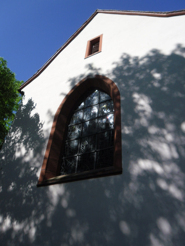 Die evangelische Bergkirche in Osthofen. Sam_8623