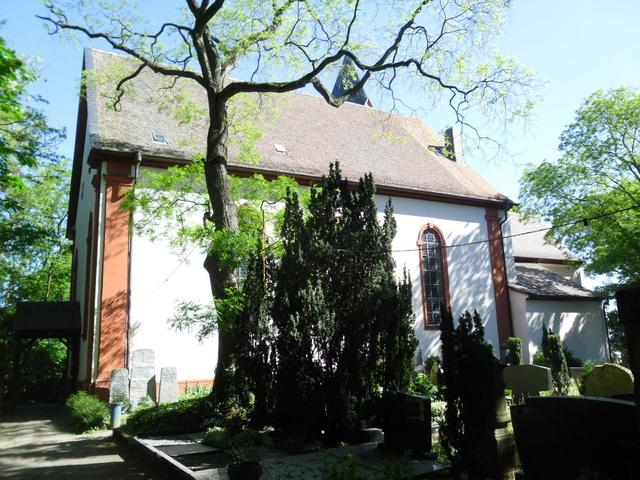 Die evangelische Bergkirche in Osthofen. Sam_8631