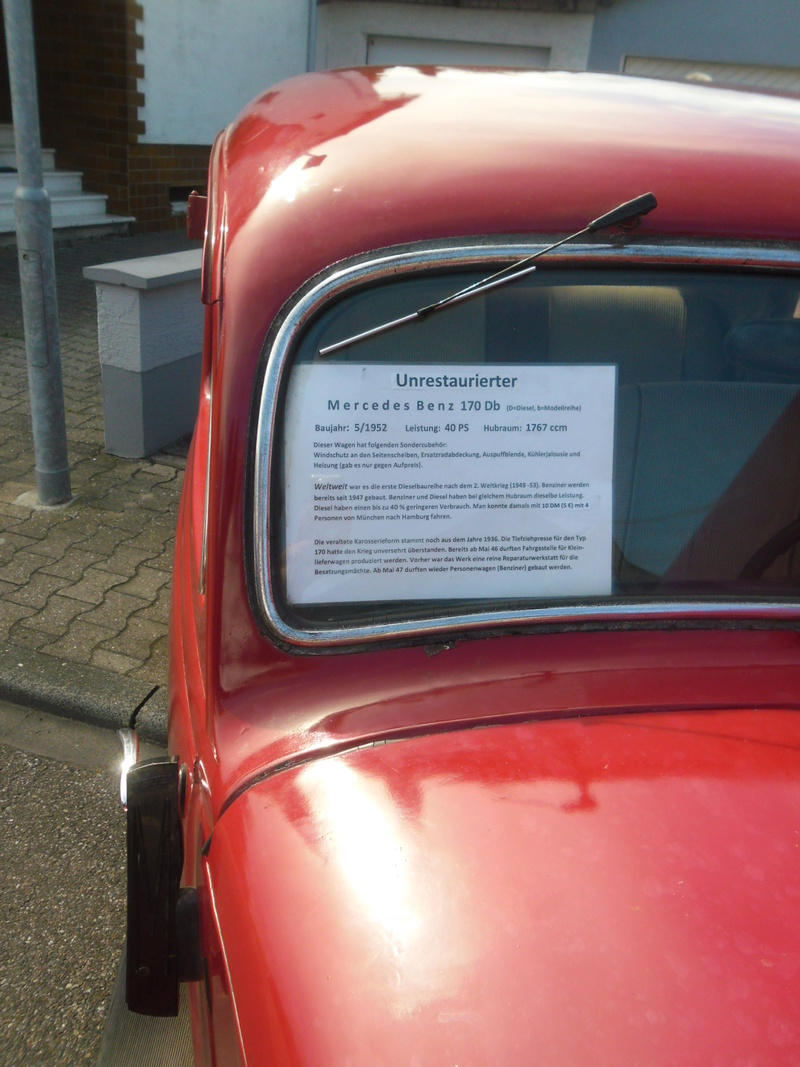 Automobilmuseum Altlußheim bei Speyer. Sam_9456
