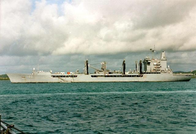 Zum Raketenschießen zu den Bahamas. Zerstörer Lütjens. Uss_pl10
