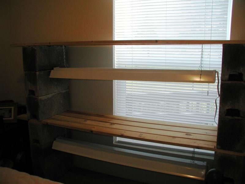 DIY PVC Growlight Stand Indoor10