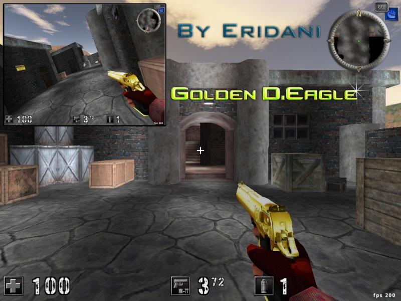 Golden Desert Eagle Golden10