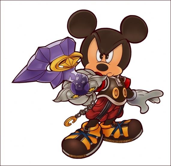 Mickey [keyblade stella][libre] Kingdo10