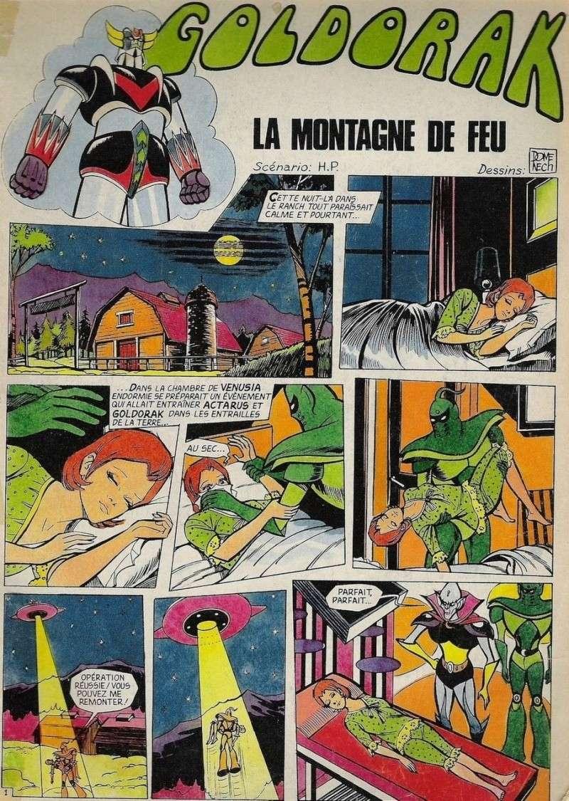 BD  GOLDORAK  :  LA  MONTAGNE  DE  FEU M110