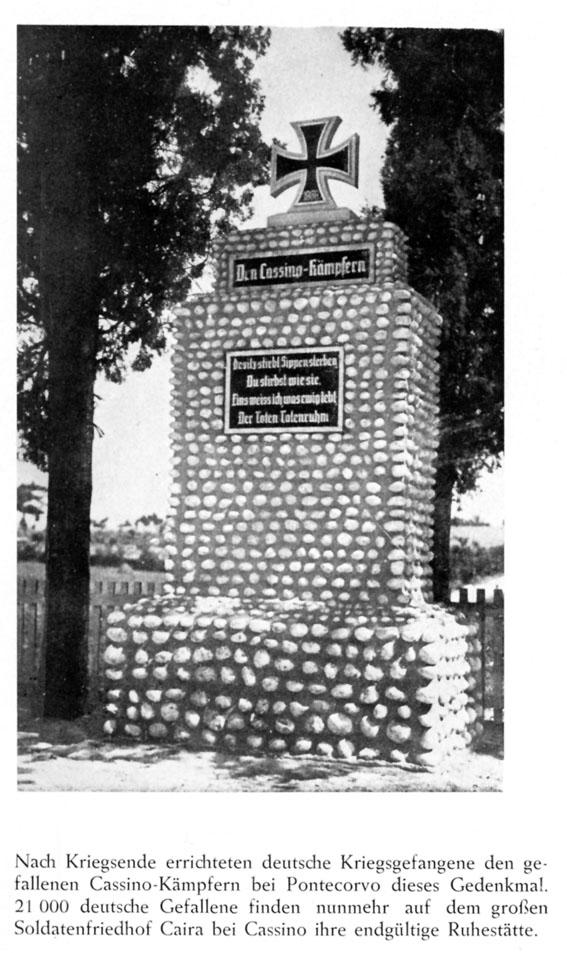 Il Cassino-Kommando, il cimitero di Pontecorvo Pontec13