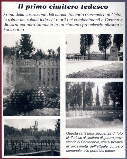 Il Cassino-Kommando, alla ricerca dei cimiteri perduti dalla relazione di due prigionieri tedeschi Pontec14