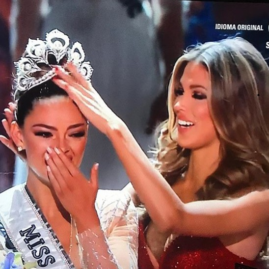 ♔ The Official Thread of MISS UNIVERSE® 2017 Demi-Leigh Nel-Peters of South Africa ♔ 23844810