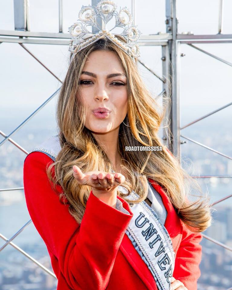 ♔ The Official Thread of MISS UNIVERSE® 2017 Demi-Leigh Nel-Peters of South Africa ♔ - Page 2 24129710