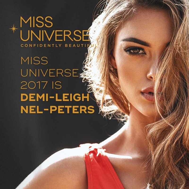 ♔ The Official Thread of MISS UNIVERSE® 2017 Demi-Leigh Nel-Peters of South Africa ♔ 24174111