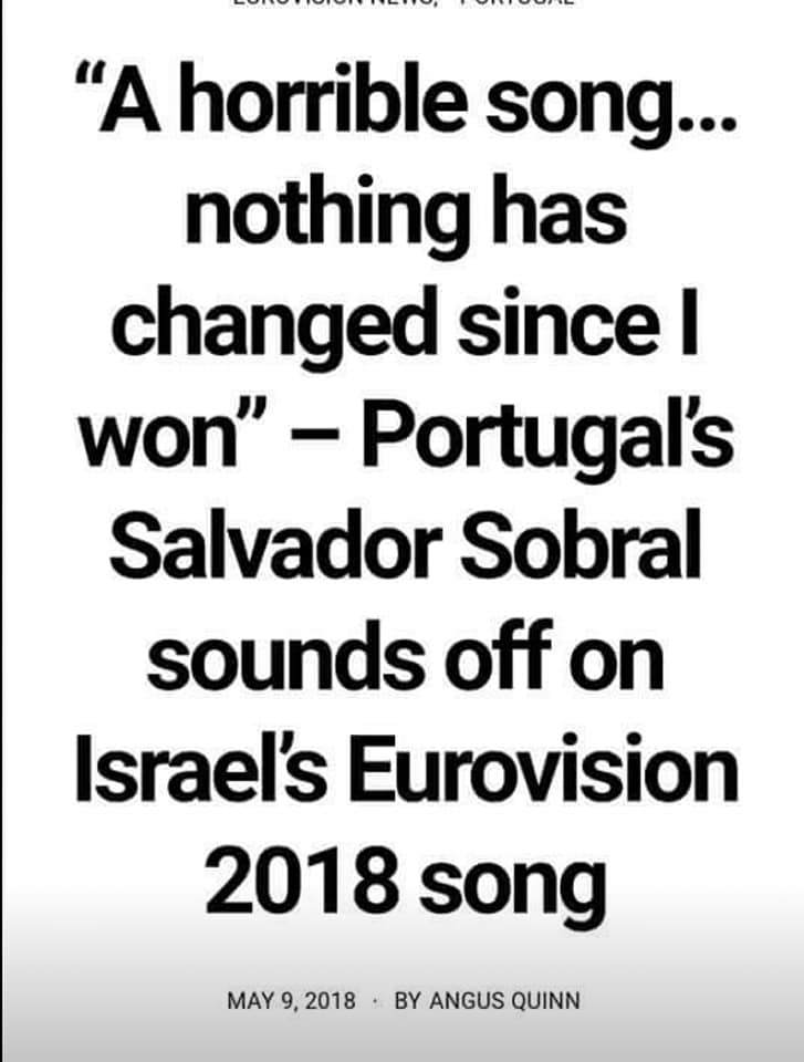 Eurovision Song Contest 2018 - ISRAEL WINS !!! - Page 9 32323110