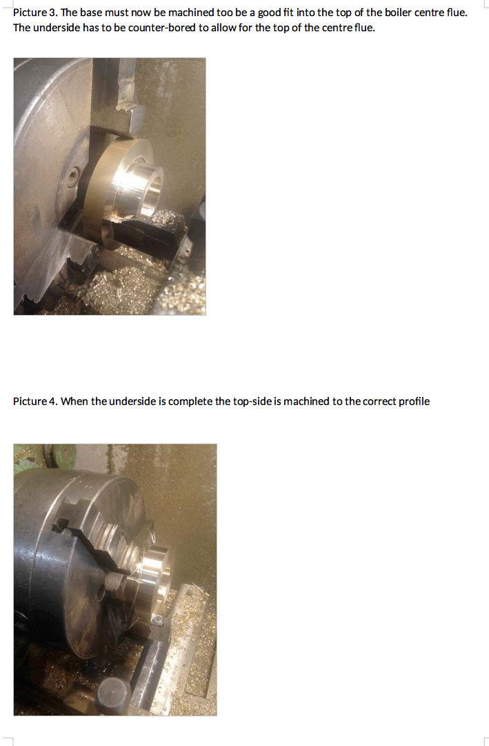 Fabrication chaudière Pendlesteam : pas à pas Captur30