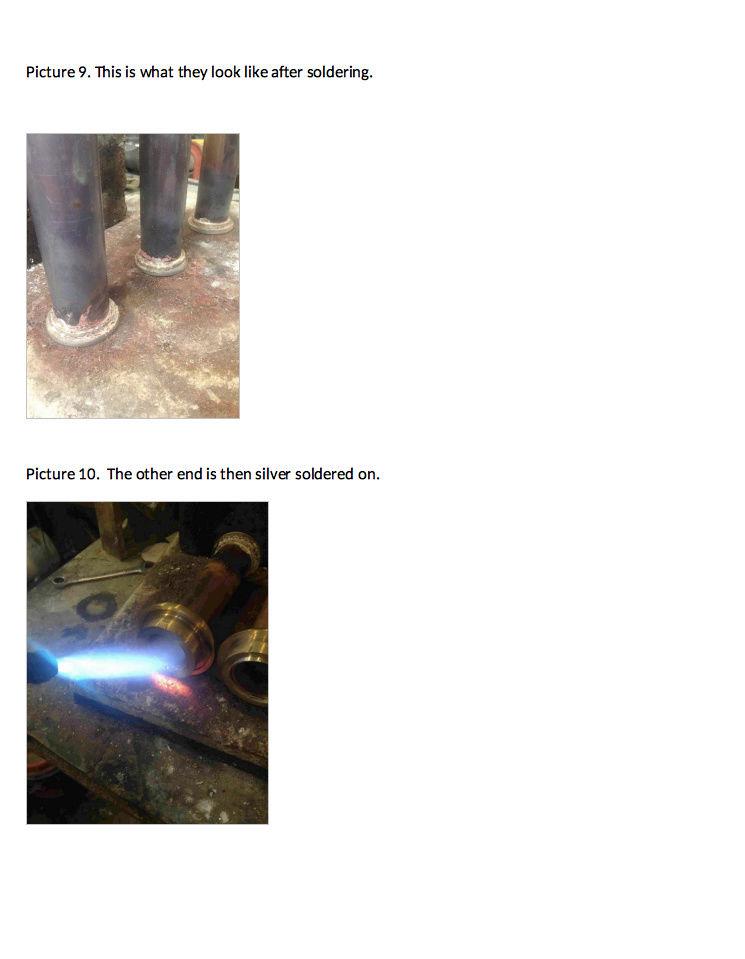 Fabrication chaudière Pendlesteam : pas à pas Captur33