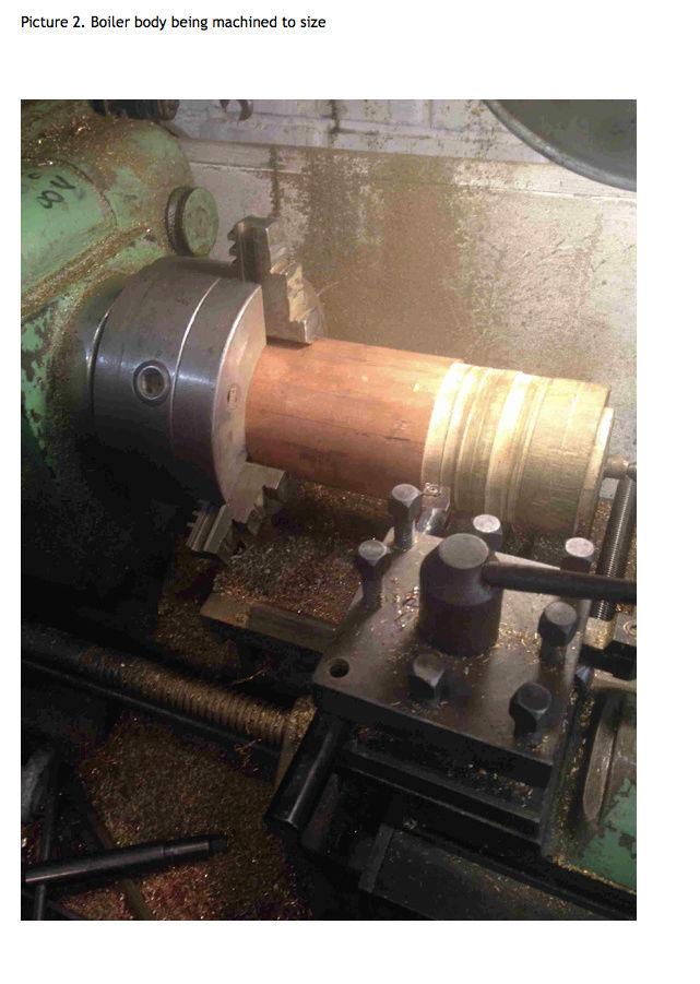Fabrication chaudière Pendlesteam : pas à pas Captur46