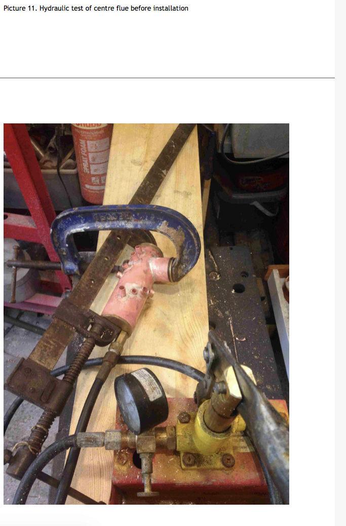 Fabrication chaudière Pendlesteam : pas à pas Captur57