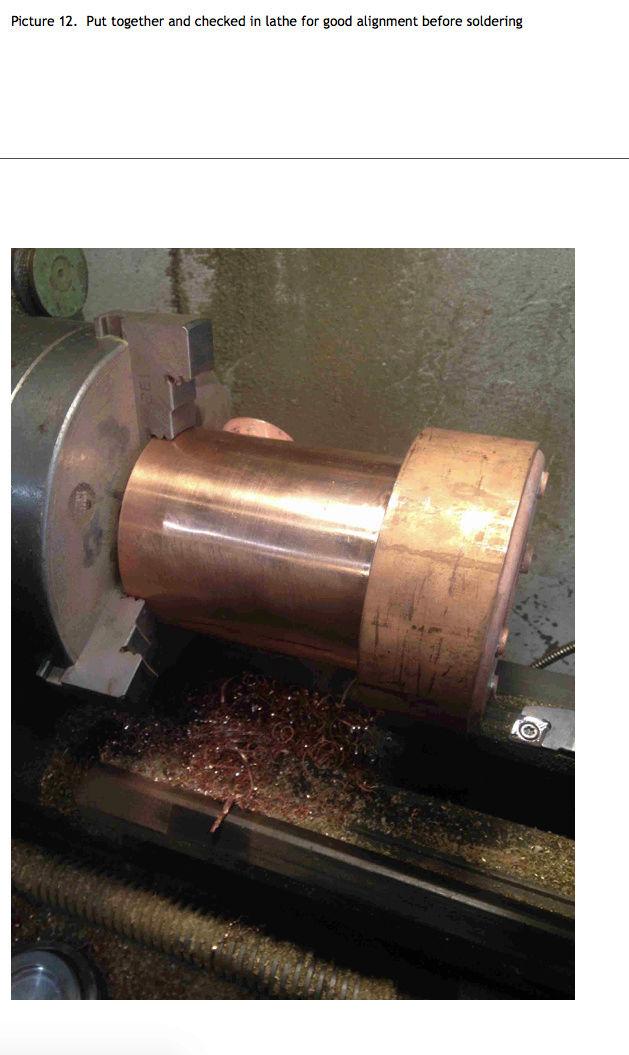 Fabrication chaudière Pendlesteam : pas à pas Captur58