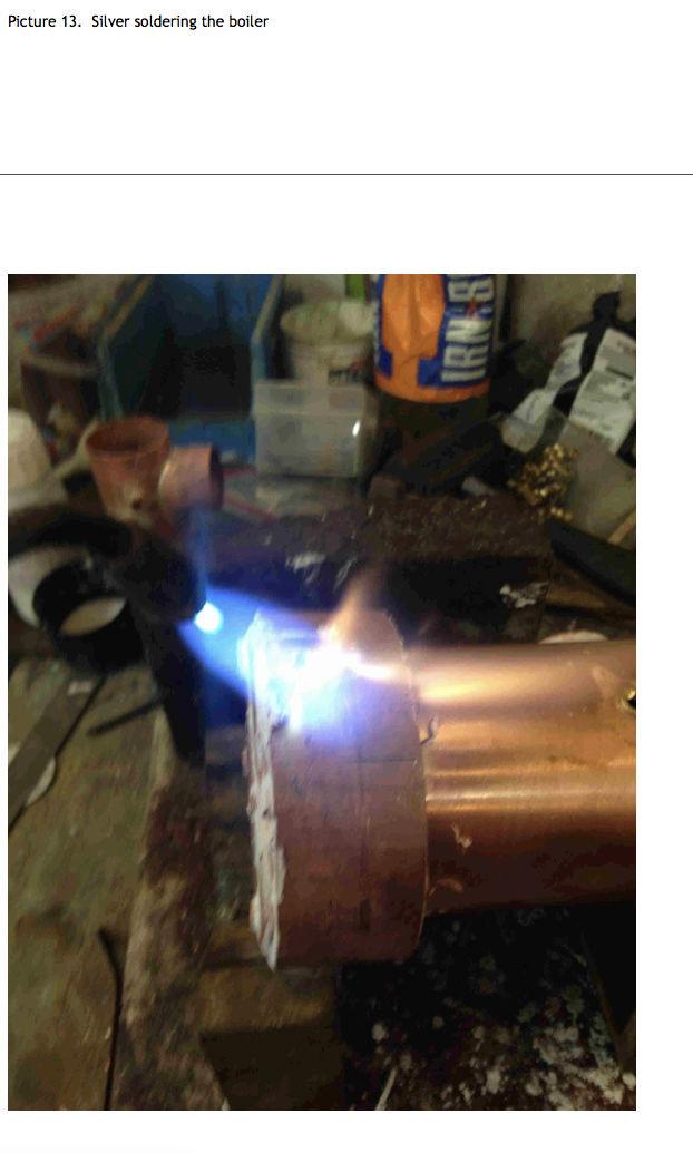 Fabrication chaudière Pendlesteam : pas à pas Captur59