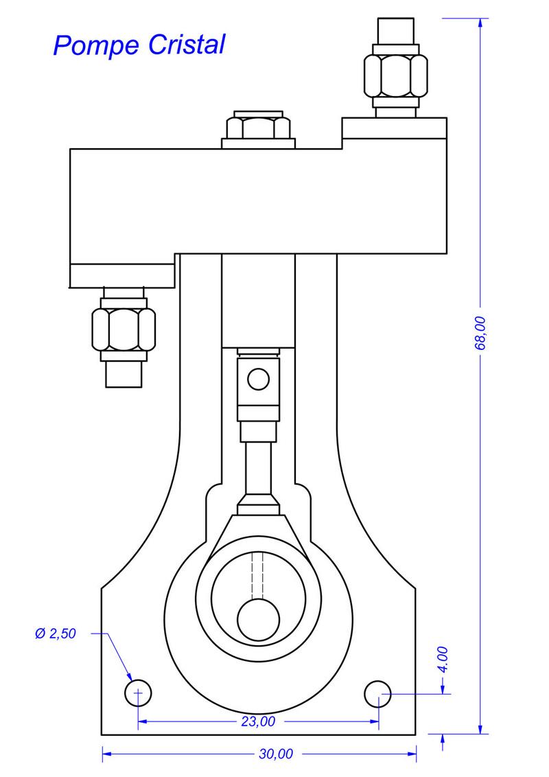 Pompe alimentation chaudière. M1451410