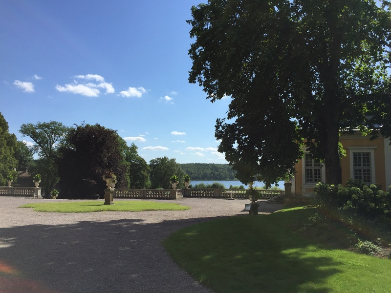 Le château de Steninge, résidence d'été d'Axel Fersen  1015