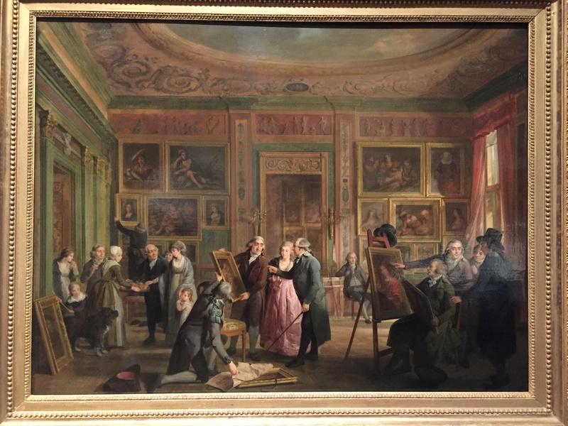 La peinture et le mobilier XVIIIème au Rijskmuseum d'Amsterdam 1022