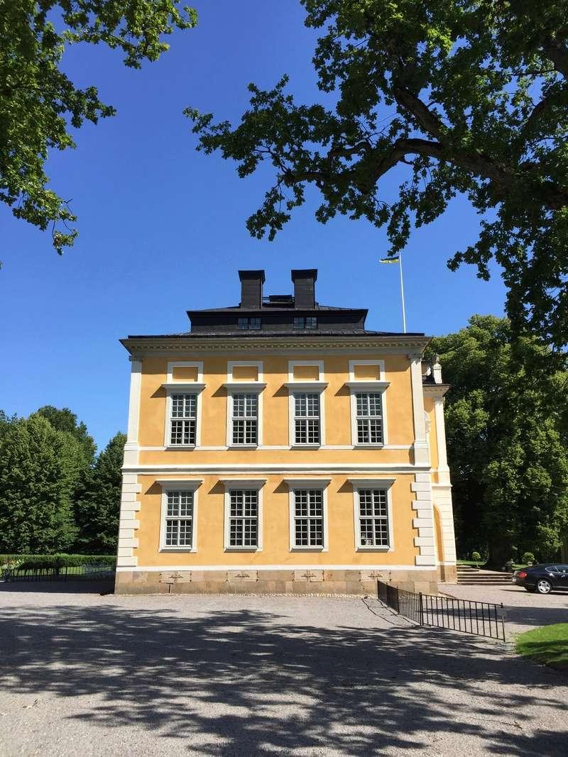 Le château de Steninge, résidence d'été d'Axel Fersen  1115