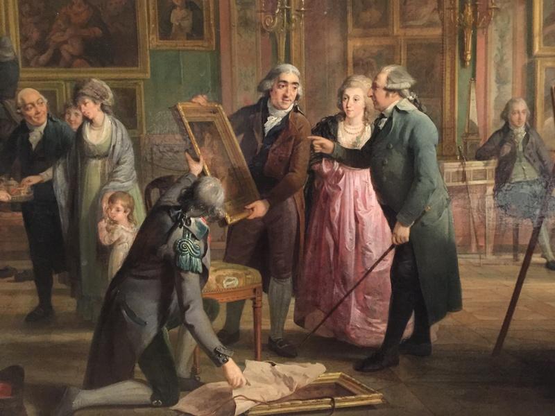 La peinture et le mobilier XVIIIème au Rijskmuseum d'Amsterdam 1122