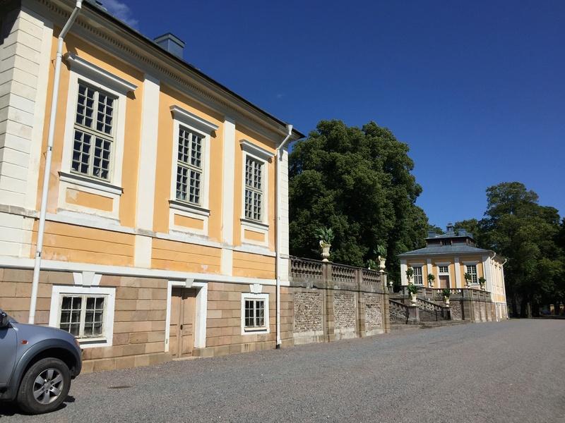 Le château de Steninge, résidence d'été d'Axel Fersen  1214