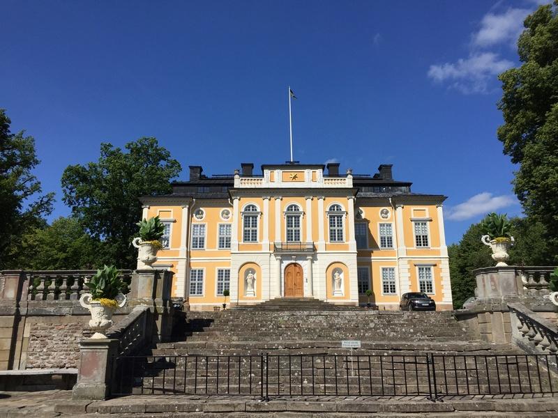 Le château de Steninge, résidence d'été d'Axel Fersen  1314