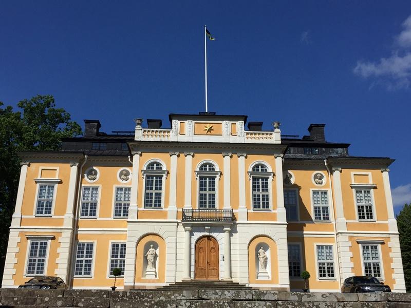 Le château de Steninge, résidence d'été d'Axel Fersen  1413