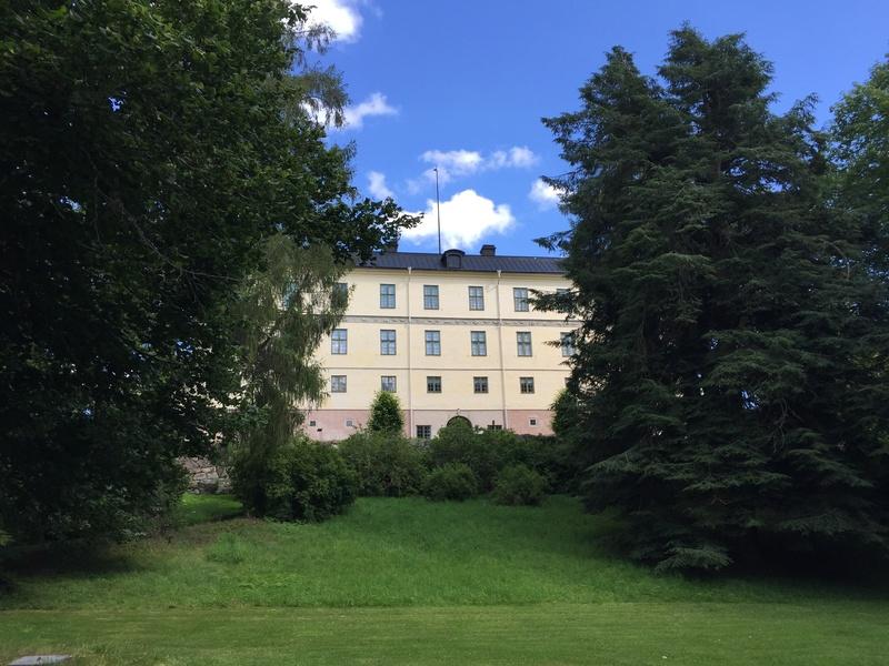 Le château de Löfstad, résidence de Sophie Piper, soeur d'Axel Fersen 1612