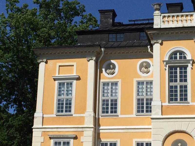Le château de Steninge, résidence d'été d'Axel Fersen  1613