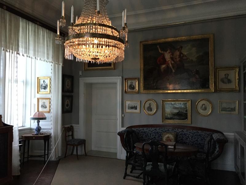 Le château de Löfstad, résidence de Sophie Piper, soeur d'Axel Fersen 1710