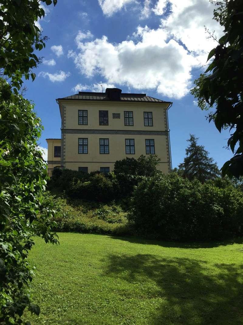 Le château de Löfstad, résidence de Sophie Piper, soeur d'Axel Fersen 1712