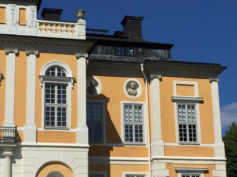 Le château de Steninge, résidence d'été d'Axel Fersen  1713